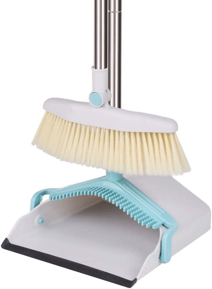 Sale WEIFAN CAI- Long Handle Lobby Dustpan Sw to 70% OFF Outlet Easy Store and Brush