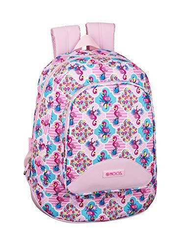 Moos Flamingo Pink Oficial Mochila Juvenil Grande 330x175x460mm