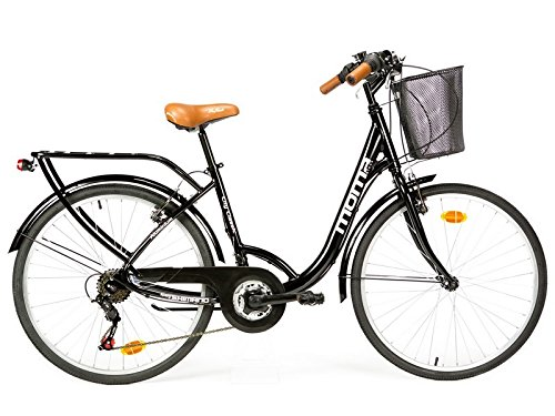 "Moma Bikes City Classic 26""-  Bicicleta Paseo, Aluminio , Cambio Shima"