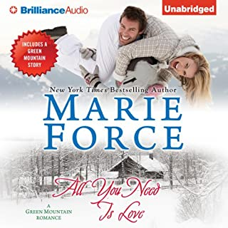 All You Need Is Love     Green Mountain, Book 1              By:                                                                                                                                 Marie Force                               Narrated by:                                                                                                                                 Kate Rudd                      Length: 11 hrs and 28 mins     545 ratings     Overall 4.4