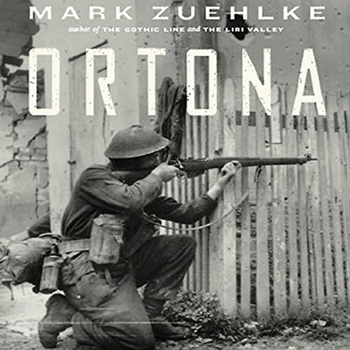 Ortona audiobook cover art