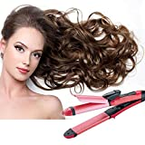 Euone 🦄 Hairdressing Instrument, 2 in 1 Multifunction Hair Straightener & Hair Curler Beauty Women Tools