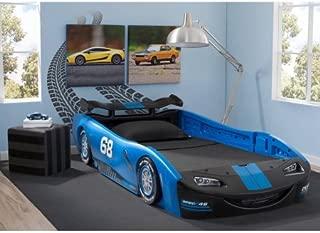 Delta Children Turbo Race Car Twin Bed   47.5