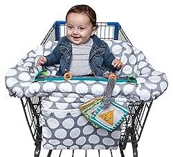 Boppy shopping cart cover.