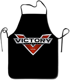 HAOYANG Unisex Classic American Victory Motocycle Barbecue Apron