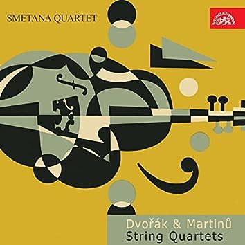 Dvořák, Martinů: String Quartets
