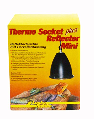 Lucky Reptile Thermo Socket + Reflector Mini, Reflektorleuchte mit Porzellanfassung