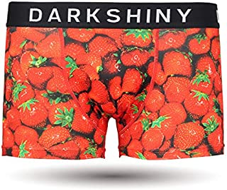 [DARK SHINY(ダークシャイニー)] ボクサーパンツ メンズ STRAWBERRY