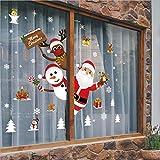 Natale Adesivi Finestra,Natale Adesivi,Fai da Te Finestra Decorazione,Natale Vetrofanie,Natale Vetrofanie Addobbi Adesivi,Natale Vetrofanie Addobbi Natale Adesivi Rimovibile