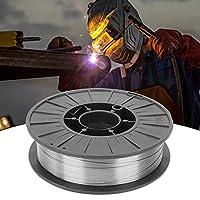 高品質の材料E71T-GS溶接ワイヤー、良好な成形、スパッタが少ないガス溶接ワイヤーなし、溶接用半自動溶接 [クリスマスプレゼント、ニューイヤーギフト]