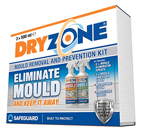 Dryzone Mould Remover and Prevention Kit (3 x 500ml) – The Definitive Long-Term Solution to Mould....