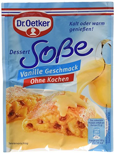 Dr. Oetker Soße ohne Kochen Vanille-Geschmack, 39g