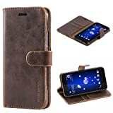 Mulbess HTC U11 Case Wallet, Leather Flip Phone Case for