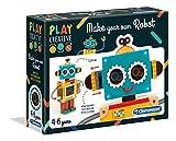 Clementoni 15274 Clementoni-15274-Play Creative-Gestalte Deinen Eigenen Roboter, Mehrfarben