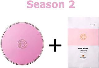 [Season 2] DPC Pink Aura Cushion 15g + Refill 15g/DPC ピンク オーラ クッション 15g + リフィル 15g (#21 Pink Beige) [並行輸入品]
