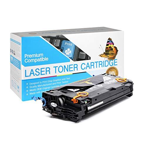 Price comparison product image USA Advantage Compatible Toner Cartridge Replacement for HP 502A / Q6470A (Black, 1 Pack)