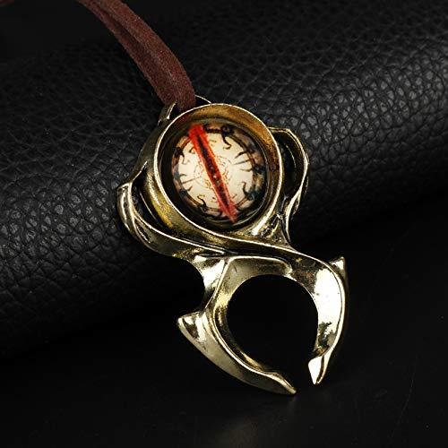 Diablo 3 Watchmen Guardian Horadrim Amulett Halskette verstellbare Seil Schnur Halskette für Liebhaber Unisex Geschenke