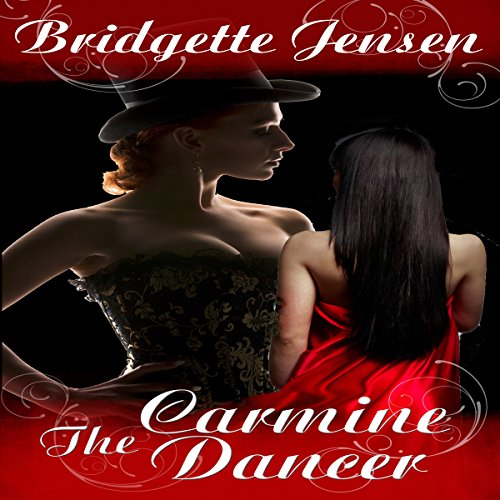 The Carmine Dancer audiobook cover art