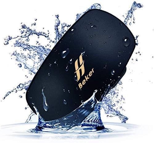 Becker MP3 de natación con IPX8 Resistente al Agua características en conducción ósea, Auriculares inalámbricos, 4 GB de Memoria, Reproductor de música submarina para Deportes acuáticos.