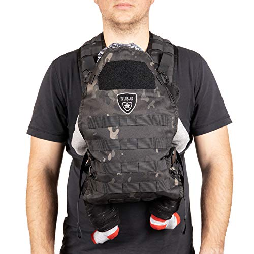 TBG Tactical Baby Carrier Black Camo