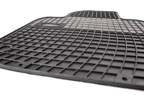 Goma Comfort Line–Juego de alfombrillas para felpudos Allwetter Fácil de Limpiar amplificación de goma en Rango de pedal (passende Modelos: Ver Descripción del producto)