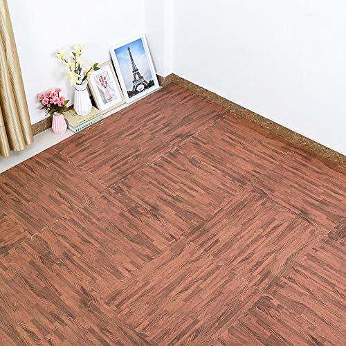YeeWrr Kette Weiche Schaumbodenmatte, EVA Puzzle Gummi Ziegelschutz Boden Kit-Bodenschutzvorrichtung, Oberflächenschutz | körperliche Matte