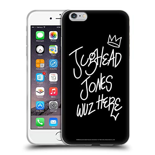 Head Case Designs Oficial Riverdale Jughead Wuz Aquí Arte Gráfico Carcasa de Gel de Silicona Compatible con Apple iPhone 6 Plus/iPhone 6s Plus