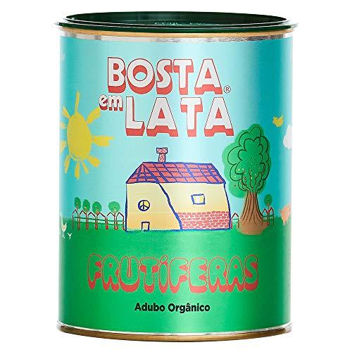 Fertilizante Orgânico Bosta em Lata Frutíferas - 500 G