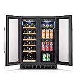 Lanbo Appliances LB36BD 24 in. Wine & Beverage Cooler