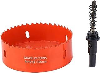 pladur 19 mm HSEAMALL 20PCS Kit de cortador de sierra para agujeros Downlights de acero al carbono Brocas para madera 152 mm - 3//4 pl/ástico y metales no ferrosos 6