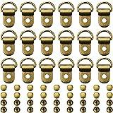 300 Pieces Bronze Shoe Laces Hooks Boot...