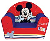 Fun House 713012 Disney Mickey Fauteuil Club Enfant Origine France Garantie, à partir de 18 Mois