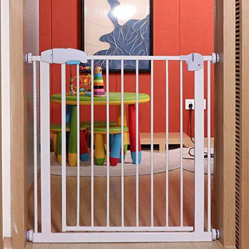 Huo Ouverture Facile Pet Porte Pression Équipée Pet Gate, Barrières de Sécurité for Les Enfants Peuvent L'extension (Size : 55-60cm)