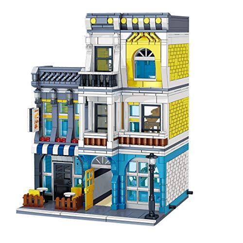 KEAYO Juego modular de bloques de construcción, 1278 piezas de bloques de construcción, modelo de casa, compatible con casa Lego.