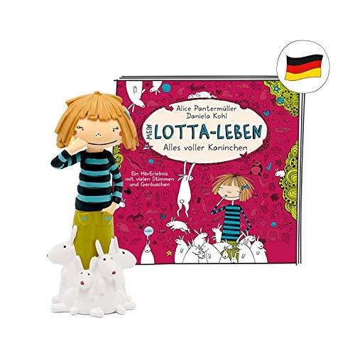 tonies Hörfiguren für die Toniebox - Mein Lotta-Leben – Alles voller Kaninchen Figur - ca. 69 Minuten ab 8 Jahren - Deutsch