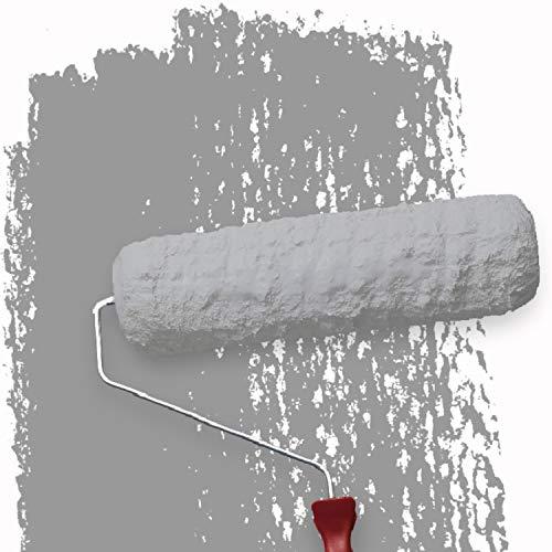 WALLCOVER Colors Wandfarbe grau für Innen 2,5 L Innenfarbe Moon 1F Matt | Profi Farbe Innenwandfarbe in Premium Qualität | weitere Größen und Farbtöne erhältlich