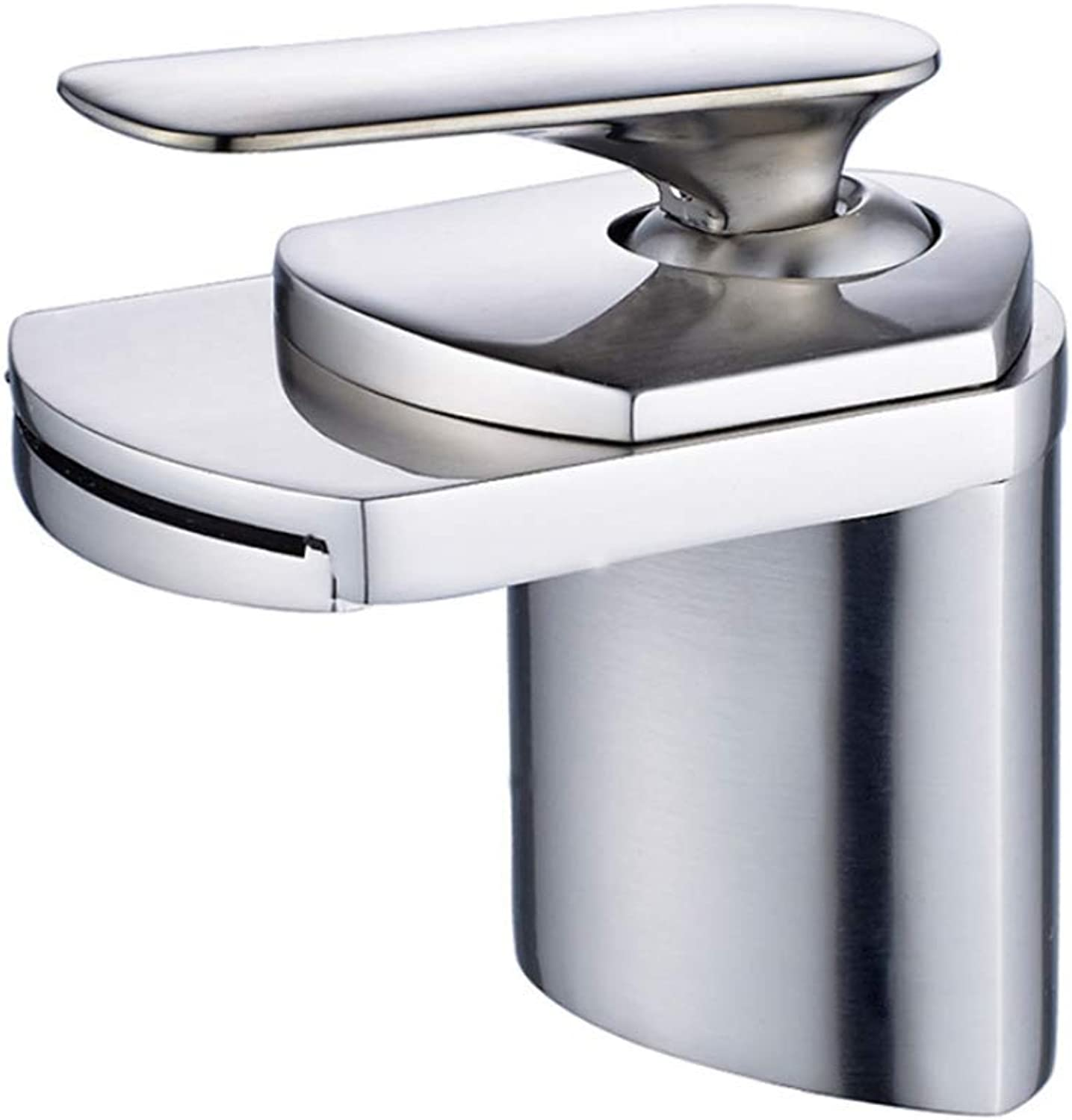 Pull Out The Pull Down Stainless Steeldeck Waterfall Mountain Basin Mixer, Faucet Brush, Nickel Width Tank, Ship Sink, Faucet