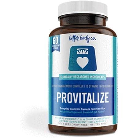 Amazon.com: Original Provitalize | Natural Menopause Probiotics for Weight  Gain, Hot Flashes, Night Sweats, Low Energy, Mood Swings, Gut Health |  Unique Probiotics Formula : Health & Household