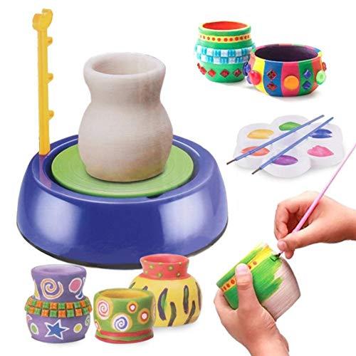 Sorand Máquina de cerámica para niños, Juguete Educativo de cerámica, máquina de cerámica de Bricolaje(#1)