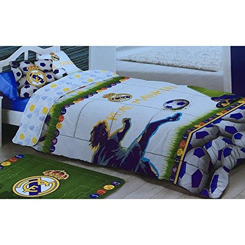 Manterol EDREDÓN CONFORTER EST.Kids 358 C/13 del Real Madrid 180X260 cm.