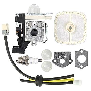 Savior SRM225 Carburetor RB-K93 with A226001410 Air Filter for Echo SRM 225 Carburetor GT225 PAS225 PE225 PPF225 SHC225 SRM225i SRM225SB SRM225U Trimmer A021001690 A021001691 A021001692