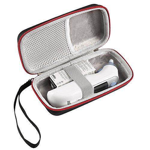 LuckyNV Thermometergehäuse für Braun Thermoscan 7 IRT6520 / ThermoScan 5 IRT6500 Reisekoffer (Einziger Fall)