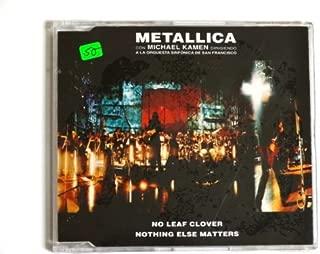 Metallica No Leaf Clover Mexican Promo Cd