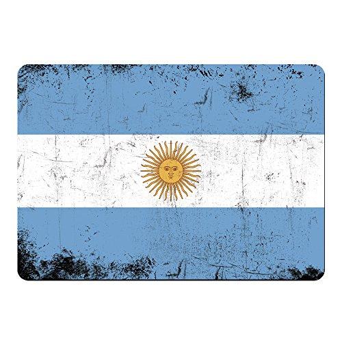 Multifanshop Mousepad Fahne Retro Argentinien farbig
