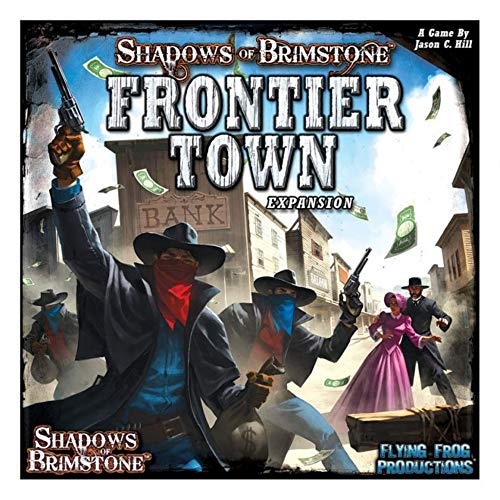 Shadows of Brimstone: Frontier Town Expansion by Flying Frog Productions