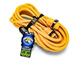 Camco 50' PowerGrip Marine Extension Cord with 30M/30F Locking Adapters | Allows for Easy Boat Connection to Distant Power Outlets | Built to Last (55613)