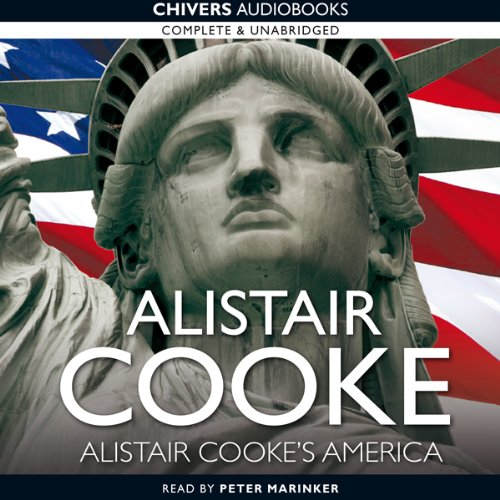 Alistair Cooke's America audiobook cover art