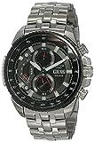 Best Casio Edifice Watches - Casio Edifice Chronograph Black Dial Men's Watch-EF-558D-1AVDF (ED436) Review