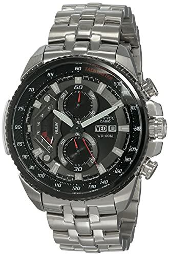 Casio Edifice Chronograph Black Dial Men's Watch-EF-558D-1AVDF (ED436)