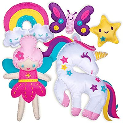 Sewing Kit for Kids - Unicorn Wonderland Learn to Sew Magical Projects - Beginner Sewing Kit for Girls 7 8 9 10 11 12 yrs - Sewing Kits for Kids with Instructions and Sewing Supplies